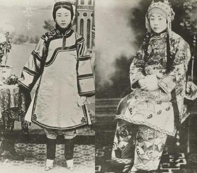 美国人镜头下「清朝老照片」,后宫妃子其实底子都不错